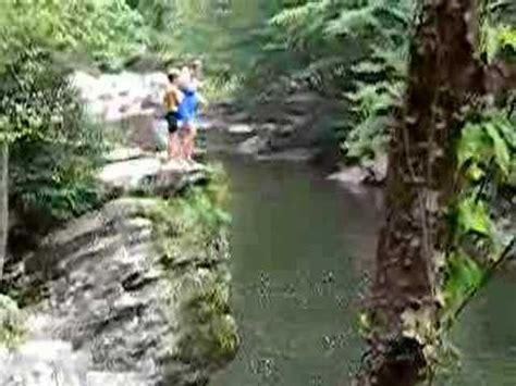 smokey mountain cliff jumping