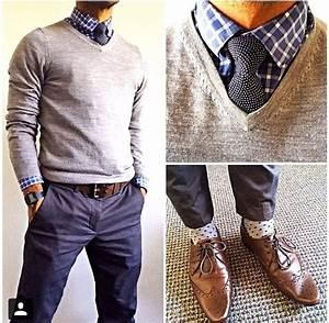 Business Casual Männer : business casual sweater and buttons down gentleman 39 s attire in 2018 ~ Udekor.club Haus und Dekorationen