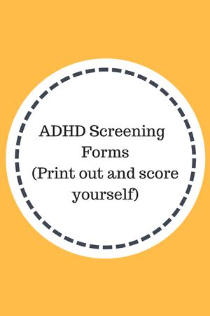 vanderbilt screening forms adhd screening evaluation forms add freesources