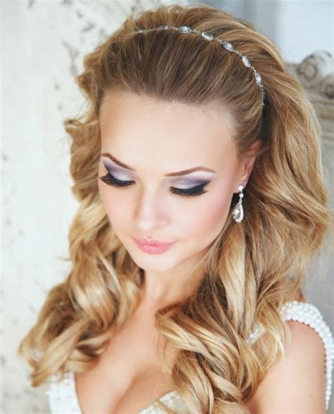 hair style with open hair bridal hairstyles open semi open or pinned up 100