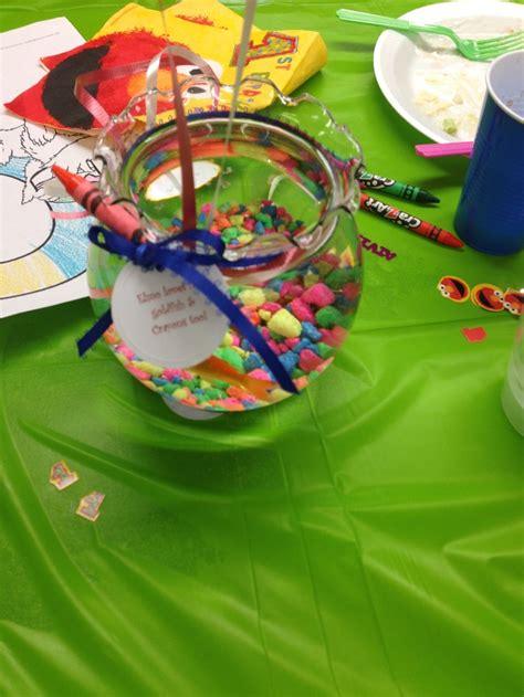fish bowl centerpieces caycee babyshower pinterest