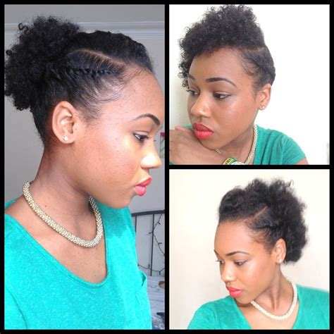 natural hairstyle for beginners natural hair pinterest