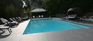 terrasse piscine grise With plage piscine sans margelle 6 terrasse piscine grise