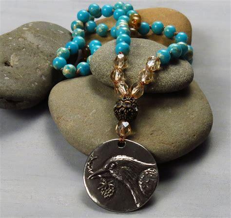 Handmade boho Hope necklace | Handmade Jewelry