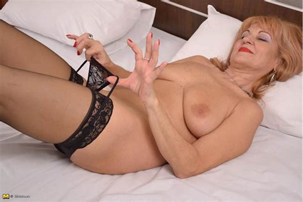 #This #Blonde #Mature #Slut #Loves #Playing #With #Herself