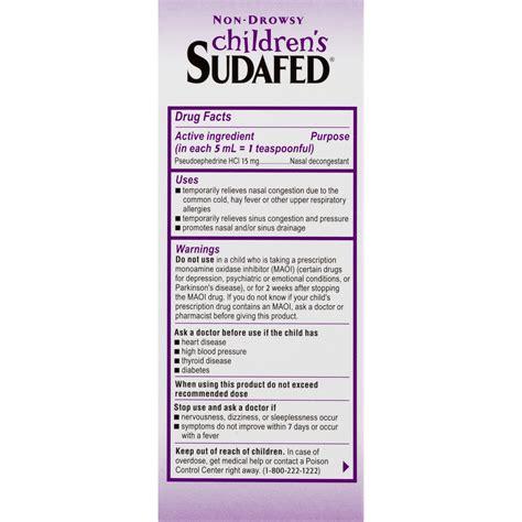 Children S Sudafed Dosage By Weight Blog Dandk