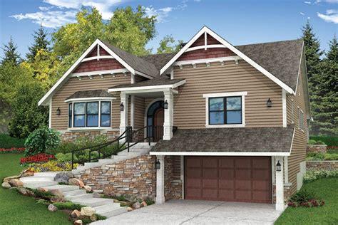 Sloped Lot House Plans Walkout Basement Best Home