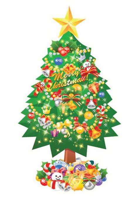 christmas tree illustration cliparts co