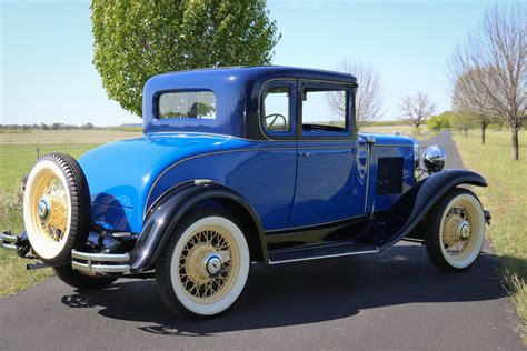 1931 Chevrolet Sport Coupe Very Well Restored Rare Find