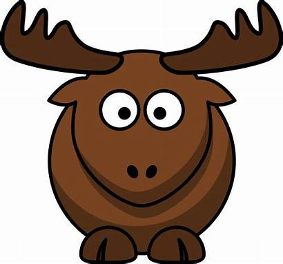 Elk Cartoon Clip Onlinelabels