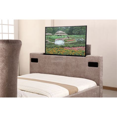 elephant fabric audio tv bed mink furniture mill outlet