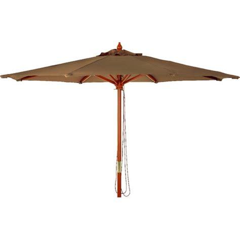 9 market brown canopy umbrella