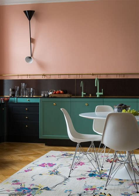 10 pink kitchens that will put you in a sweet mood   The