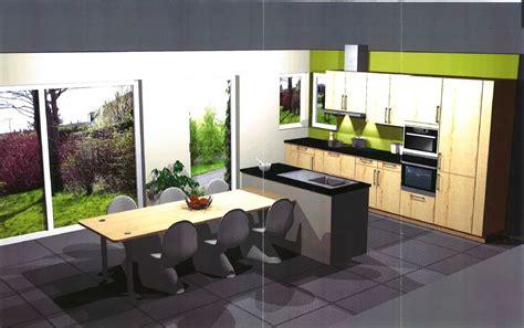 cuisine avec table à manger ilot de cuisine avec table ilot de cuisine avec table de