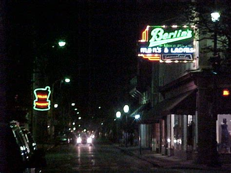 King & Broad Street At Night Photo