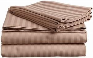 King Of Cotton : luxury egyptian cotton 400 thread count stripe split king ~ Nature-et-papiers.com Idées de Décoration