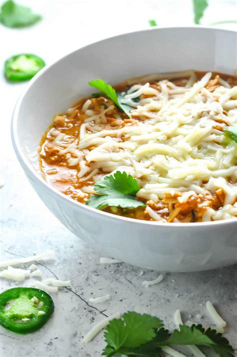 shredded chicken chili recipe ketogasm