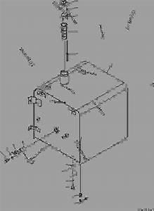 Fuel Tank - Hydraulic Excavator Komatsu Pc300-7
