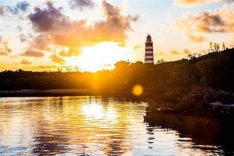 sunrise   historic elbow cay lighthouse abaco