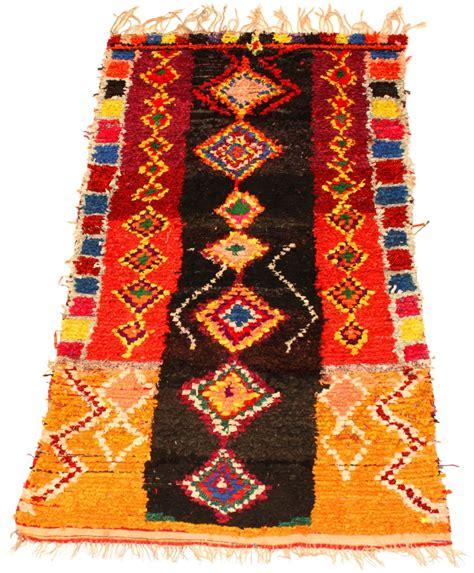 moroccan boucherouite rug moroccan berber rug boucherouite 225 x 155 cm