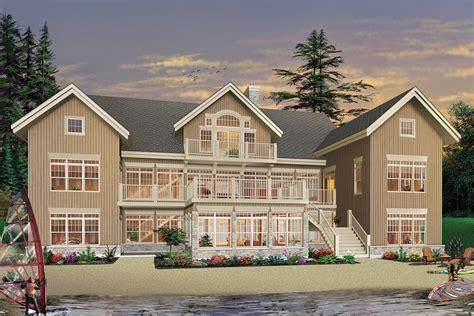 Beach Style House Plan 7 Beds 6 5 Baths 9028 Sq/Ft Plan