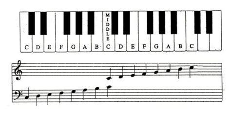How Read Piano Notes