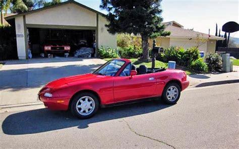 1991 Mazda Miata: Cheap Reliable Fun!   Mazda miata, Miata, Mazda