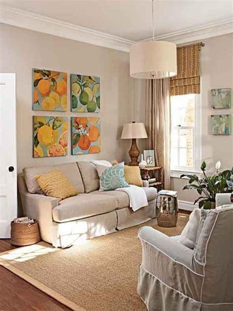 ideias simples  decorar salas pequenas