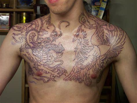 japanese shoulder  chest tattoos tattoo ideas