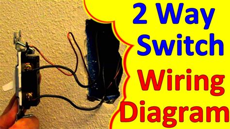 Way Light Switch Wiring Wiagrams How Wire Install
