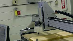 Students Make a CNC Router Table - First time Cutting