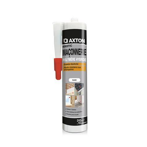 mastic d 233 tanch 233 it 233 axton ma 231 onnerie 310 ml blanc leroy merlin