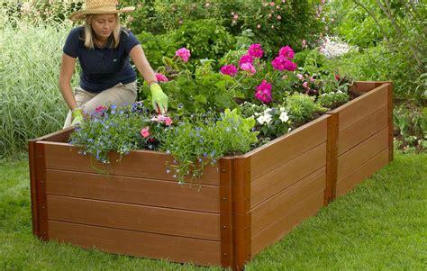 Composite Raised Garden Bed