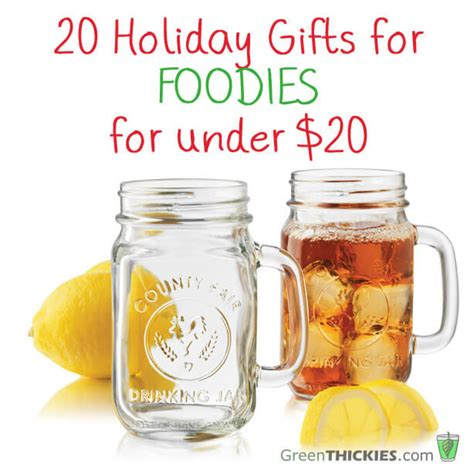 20 holiday gifts for foodies for under 20