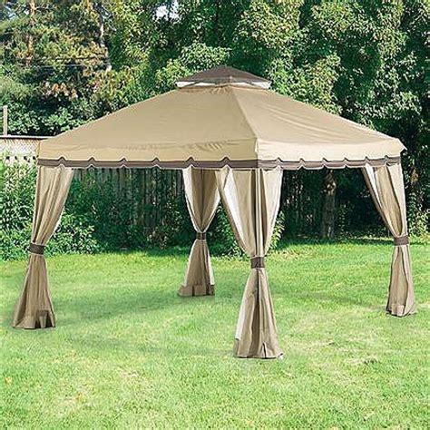 sears  home pop     gazebo replacement canopy  garden winds canada