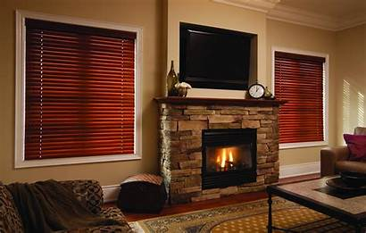 Blinds Horizontal Wood Window Drapery Sewing Northshield