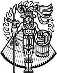 Resultat d'imatges de dibujos aztecas para tatuajes