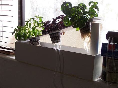 hydroponic herb garden build your own hydroponic window herb garden system