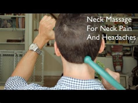 Neck Massage For Neck Pain And Headaches - YouTube