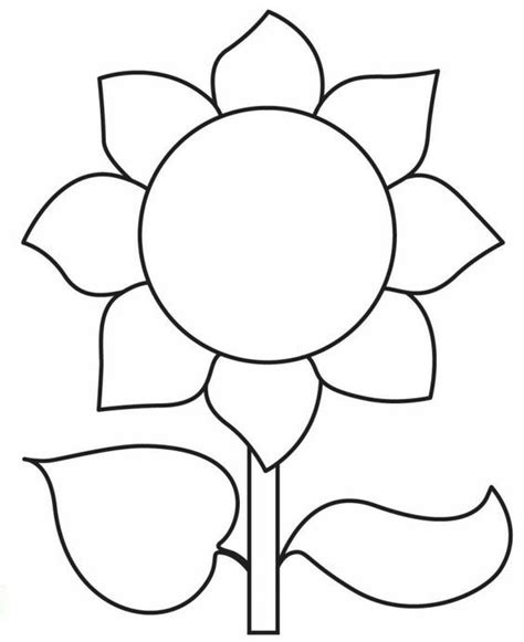 pin  coloring fun  flowers  plants sunflower