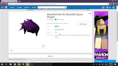 This is the biggest free list with roblox hair codes. Beautiful Hair For Beautiful Roblox   All Robux Codes List ...