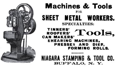 niagara machine tool works  ad niagara stamping