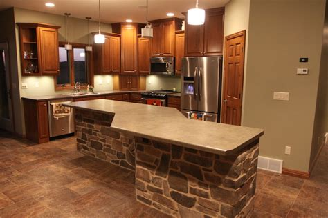 kitchen islands for green bay custom cabinets 5255