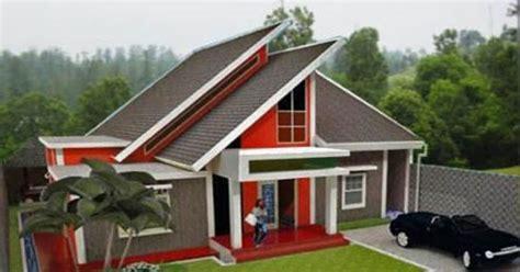 desain atap rumah minimalis  atap baja ringan