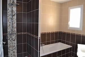 awesome salle de bain taupe et chocolat ideas awesome With salle de bain taupe et beige
