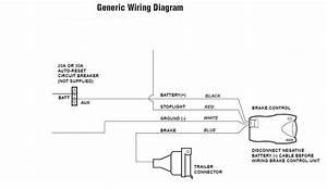 Tekonsha Trailer Brake Controller Wiring Diagram