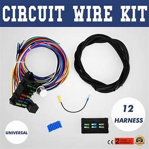 Wiring Manual Pdf  14 Circuit Fuse Box Ebay