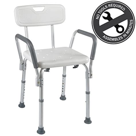 Elderly Shower Chair by Shower Chair Bath Seat With Arms Back Portable For Seniors