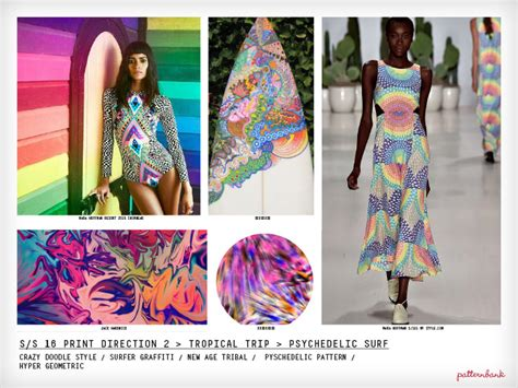Sommer Trends 2016 by Fashion Vignette Trends Patternbank Print Trend