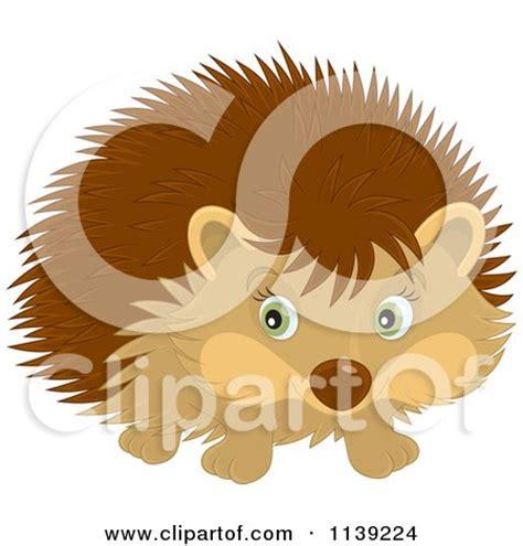 cartoon   cute happy hedgehog presenting royalty